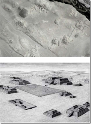 Fig 11 Aerial view Caral Complex