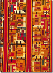 Fig 33 Andean textile