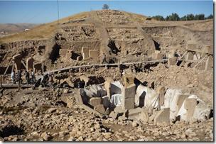 Fig 8 Gobekli Tepe 11.5kya pre-agricultural monumental architecture