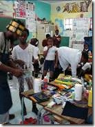 Southkids Workshop, Belle Primary School, Orlando West, Soweto, October 2007 