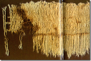 Fig 32 Caral textile