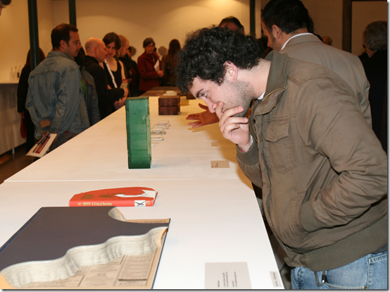 Opening of 'Make the Common Precious' in Santiago, 2006, showing links between art from everyday materials in Australia and the poetry of Pablo Neruda